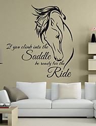 cheap -Animals Words & Quotes Wall Stickers Plane Wall Stickers 3D Wall Stickers Decorative Wall Stickers Wedding Stickers, Vinyl Paper Home