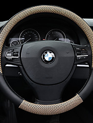 cheap -Steering Wheel Covers 38cm Beige / Coffee / Black / Red For universal General Motors All years