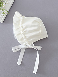 cheap -Infant Girls' Polyester Hats & Caps White One-Size