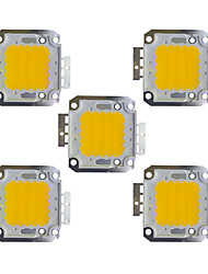 cheap -5pcs 2400 lm Bulb Accessory Brass LED Chip 30 W