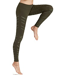 Недорогие -Жен. Брюки для бега Спортивные штаны Спортивные штаны Виды спорта Брюки Леггинсы Йога Фитнес Тренировка в тренажерном зале Разрабатывать Упражнение Дышащий Хорошая вентиляция Быстровысыхающий