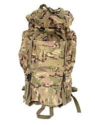 cheap -80 L Hiking Backpack Rucksack Commuter Backpack Comfortable Outdoor Camping / Hiking Hiking Outdoor Exercise - Black Green Camouflage
