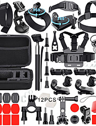 cheap -Sports Action Camera Accessory Kit For Gopro Outdoor Antiskid Adjustable Length 1 pcs For Action Camera Gopro 6 Gopro 5 Gopro 4 Gopro 4 Session Gopro 3 Surfing Road Cycling Hiking Composite PC