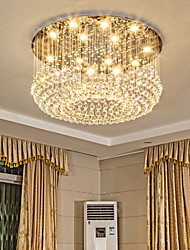 cheap -12 Bulbs 80 cm Crystal Metal Traditional / Classic / Country 110-120V / 220-240V / GU10