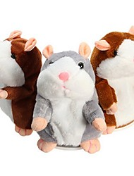 cheap -Electronic Pets Stuffed Animal Talking Stuffed Animals Plush Toy Plush Toys Plush Dolls Hamster Animal Sounds Animals Talking Strange Toys Imaginative Play, Stocking, Great Birthday Gifts Party Favor