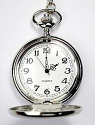 cheap -Couple's Skeleton Watch Pocket Watch Analog Quartz Ladies Hollow Engraving Casual Watch