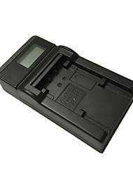 cheap -Ismartdigi VBK180 LCD USB Camera Battery Charger for Panasonic VBK180 VBT190 VBK360 VBT380 VBY100 HC-V110 V210 V520 V720 GK