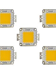 cheap -5pcs 8000lm Bulb Accessory LED Chip Brass 100W
