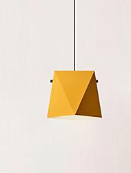 Недорогие -Геометрический принт Подвесные лампы Рассеянное освещение Металл 110-120Вольт / 220-240Вольт Лампочки не включены / E26 / E27