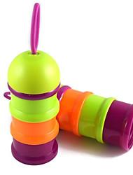 cheap -L Cat / Dog Bowls & Water Bottles Pet Bowls & Feeding Portable / Adjustable / Retractable / Adjustable Flexible Rainbow