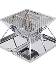 cheap -Camping Stove Outdoor Cookware One-piece Suit Case Included for 3 - 4 person Stainless Steel Outdoor Camping Silver