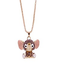 cheap -Women's Pendant Necklace Chain Necklace Elephant Simple Fashion Alloy Purple Necklace Jewelry One-piece Suit For Gift Going out