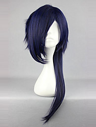 cheap -Cosplay Wigs Princess Sweet Lolita Dress Ink Blue Sweet Lolita Lolita Wig 26 inch Cosplay Wigs Solid Colored Wig Halloween Wigs