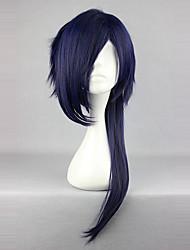 Недорогие -Косплэй парики Принцесса Сладкое детство Чернильный синий Sweet Lolita Парики для Лолиты 26 дюймовый Косплэй парики Однотонный Парики Хэллоуин парики