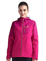 cheap -Women's Hiking Jacket Winter Outdoor Breathable Warm Quick Dry Top Single Slider Running Camping / Hiking Casual Fuchsia / Navy Blue / Dark Blue Hiking Fleece Camping & Hiking Apparel & Accessories