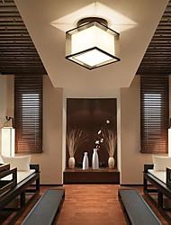 cheap -1-Light Square Modern Simple Ceiling Lamp Flush Mount Lights Entry Hallway Game Room Kitchen Light Fixture