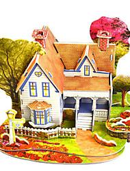 abordables -Kit de Maquette Architecture Exquis / Fait à la main / Interaction parent-enfant Plastique souple 1 pcs Classique / Romantique Enfant / Adulte Cadeau