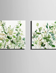 cheap -Canvas Print Modern, Two Panels Canvas Square Print Wall Decor Home Decoration