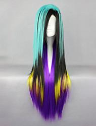 cheap -Cosplay Wigs Men's Women's 32 inch Heat Resistant Fiber Purple Anime / Princess Lolita