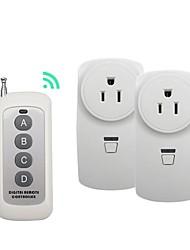 abordables -broadlink 1 à 2 nous branchez le commutateur de télécommande sans fil rf pour une utilisation domestique intelligente avec rm pro