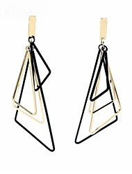 cheap -Women's Drop Earrings Ladies Simple Classic Fashion Earrings Jewelry Gold / Silver For Daily