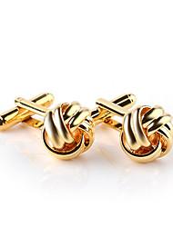 Недорогие -Запонки Формальная Мода Элегантный стиль Сплав Брошь Бижутерия Золотой Серебряный Назначение Свадьба Для вечеринок