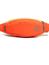 cheap -3 L Waist Bag / Waistpack Multifunctional Rain Waterproof Reflective Strips Outdoor Hiking Cycling / Bike Fitness Printable Polyester Sky Blue Grey Dark Green