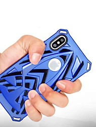 cheap -Case For Apple iPhone X / iPhone 8 Plus / iPhone 8 Shockproof Back Cover Armor Hard Plastic