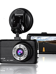 Недорогие -T660 маленький глаз камера видеорегистратор видеорегистратор 170 градусов 3,0 жк-автомобиль для водителей Full HD 1080 P рекордер камера с G-сенсором ночного видения