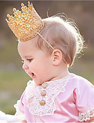 cheap -Toddler Unisex Others Hair Accessories Gold One-Size / Headbands