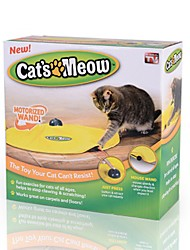cheap -Cat Teasers Interactive Training Interactive Toy Cat Kitten Pet Toy Variable Speed Control Plastic Gift