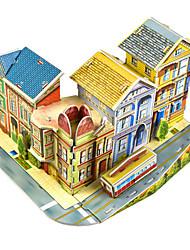 abordables -Kit de Maquette Architecture Exquis / Fait à la main / Interaction parent-enfant Plastique souple 1 pcs Artistique / rétro / Romantique Enfant / Adulte Cadeau
