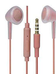Недорогие -PHB SIP-1314 Наушники-вкладыши Проводное Мобильный телефон С микрофоном