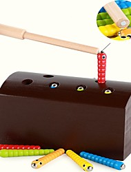 cheap -Board Game Wooden Classic Theme Magnetic Parent-Child Interaction Kid's Boys' Girls' Toys Gifts