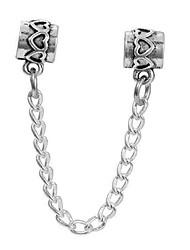 cheap -DIY Jewelry 1 pcs Beads Alloy Silver Cylinder Bead 0.5 cm DIY Necklace Bracelet