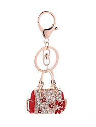 cheap -Keychain Casual Fashion Ring Jewelry Red / Pink For Gift Daily