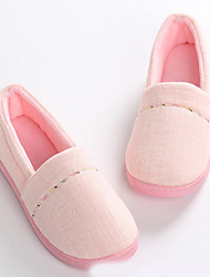 cheap -Women's Slippers House Slippers Comfort Polyester Shoes