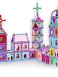 cheap -Magnetic Blocks Magnetic Sticks Magnetic Tiles Building Blocks Building Bricks 458 pcs Architecture Transformable Building Toys Boys' Girls' Toy Gift / Kid's