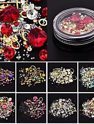 cheap -Outfits / Rhinestones Sets / Nail Art Design Crystal / Fashion / Nail Glitter Daily