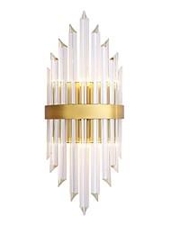 cheap -QIHengZhaoMing Crystal Wall Lamps & Sconces Living Room / Study Room / Office Metal Wall Light IP20 110-120V / 220-240V 3 W / E14 / E12