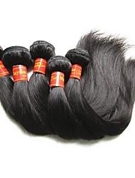 cheap -wholesale-9a-malaysian-virgin-hair-silk-straight-5-bundes-500g-lot-malaysian-remy-human-hair-extensions-weaves-natural-black-color-100g-bundle