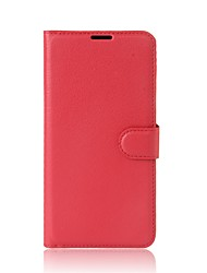 cheap -Case For Xiaomi Xiaomi A1 Wallet / Card Holder / with Stand Full Body Cases Solid Colored Hard PU Leather