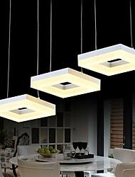 cheap -3-Light 70 cm Mini Style LED Pendant Light Metal Acrylic Cluster Painted Finishes Modern Contemporary 110-120V 220-240V