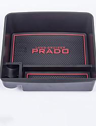 Недорогие -Органайзеры для авто Коробка для хранения подлокотника спереди Назначение Toyota 2017 2016 2015 2014 2013 2012 2011 2010 2009 2008 LAND