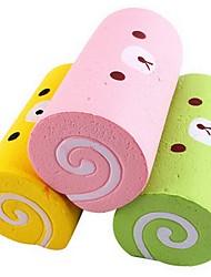 Недорогие -LT.Squishies Резиновые игрушки Еда и напитки Торты Стресс и тревога помощи Товары для офиса Оригинальные 1 pcs Универсальные Игрушки Подарок