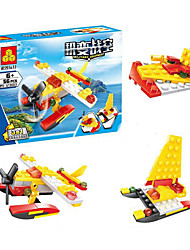cheap -Building Blocks Construction Set Toys Educational Toy Military Race Car compatible Legoing Stress and Anxiety Relief Creative DIY Contemporary Plane Fighter Boys' Girls' Toy Gift / Hand-made