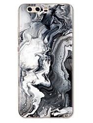 cheap -Case For Huawei P9 / Huawei P9 Lite / Huawei P8 P10 Plus / P10 Lite / P10 Pattern Back Cover Lines / Waves / Marble Soft TPU / Huawei P9 Plus
