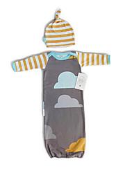 cheap -Sleeping Bag Outdoor Camping Slumber Bag 20 °C Single Cotton Folding Spring &  Fall Summer for Camping / Hiking Beach Camping / Hiking / Caving Traveling Picnic