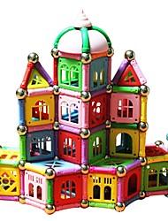 cheap -Magnetic Blocks Magnetic Sticks Magnetic Tiles Building Blocks Building Bricks 398 pcs Architecture Transformable Building Toys Boys' Girls' Toy Gift / Kid's