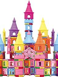cheap -Magnetic Blocks Magnetic Sticks Magnetic Tiles Building Blocks Building Bricks 660 pcs Castle Fun & Whimsical Building Toys Boys' Girls' Toy Gift / Kid's / Metalic